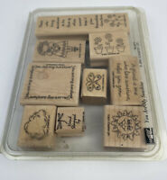 Stampin Up YOU ARE MY SUNSHINE Rubber Stamp Wood Mounted