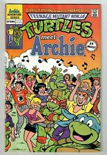 TEENAGE MUTANT NINJA TURTLES MEET ARCHIE 1 SHOT (NM-) 1991 Classic 64 Pages!