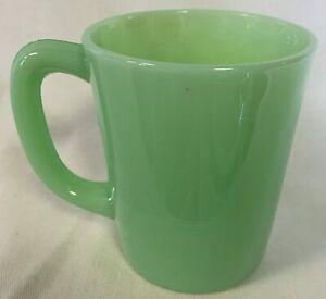 Coffee Mug - Jade Jadeite Jadite Green Glass - Mosser USA