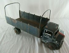 United States Air Force Transport Truck Marx Lumar Vintage 1950's Pressed Steel