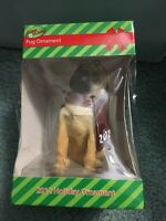 BRAND NEW IN BOX Paws Claus Pug Holiday Ornament, NEW