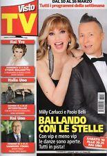 Visto Tv 2018 8.Milly Carlucci & Paolo Belli-Ballando con le stelle