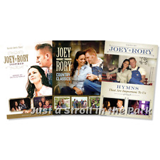 Joey + and Rory: Inspired + Country Classics + Hymns Songs Box / DVD Set(s) NEW