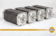 [US]Free ship 4PCS Nema23 Stepper Motor 112mm, 2.8N.M 425oz,3A&4.2A, single&dual