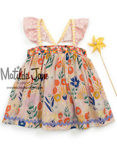 NEW Girls Matilda Jane Platinum Cloud 9 Lucy Top Size 8 NWOT