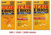 Asahi EBIOS 600/1200/2000 Natural Brewer's yeast Gastorointensinal Supplement JP