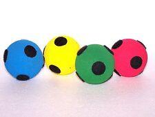 4 nessun Bounce Palline a bassa densità schiuma morbida spugnoso Spot Target palline giochi attività