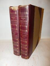 WORKS of JANE AUSTEN 2 volumi Edizione DE LUXE con Tavole a colori Testo inglese