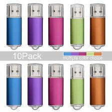 10pcs/lot 1GB-16GB USB2.0 Flash Drive Memory Stick Pen Drive Storage Thumb Disk