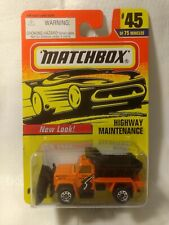 Matchbox Highway Maintenance #45 of 75 1:64 Scale Diecast mb1734