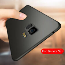 For Samsung Galaxy S9 Black Slim Soft Rubber Case Matte Shockproof Bumper Cover