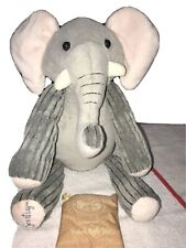 """Scentsy Buddy Ollie the Elephant Plush Stuffed Animal 15"""" Retired W/Scent Pack"""
