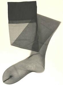 Vintage Berkshire 1970s Flat Knit Nylon Stockings Model 1579 Nude Foot
