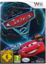 Nintendo wii Cars 2 DISNEY * complet allemand NEUF