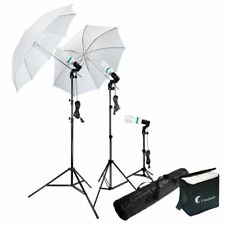 Photography Photo Portrait Studio 600W Day Light Umbrella Continuous Lighting