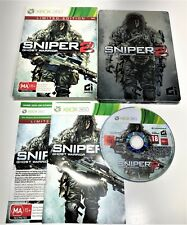 MICROSOFT XBOX 360 GAME | SNIPER 2 GHOST WARRIOR LIMITED EDITION | COMPLETE PAL