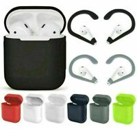 Silicone Rubber Cover Case Skin Sleeve Bag Earhook For AirPod Earphone Replacing