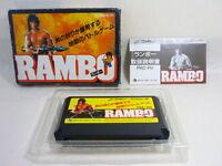 RAMBO Famicom Family Computer Nintendo Import JAPAN Video Game bcb fc
