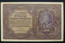 POLSKA, 1000 POLISH MARK 1919, LARGE SIZE  (PL)
