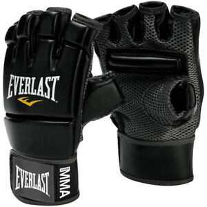 Everlast Evercool MMA Kickboxing Gloves - Black