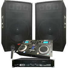 Crank It UP! Dj System - Great for those summer parties - 2100 WATTS