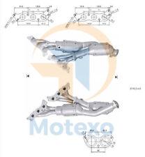 Catalytic Converter LEXUS IS200 2.0i 24V 155 bhp 1GFE 3/99>7/05