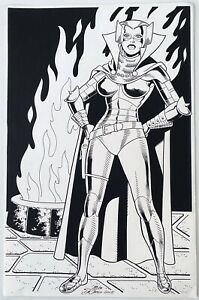 Mike DeCarlo Wally Wood's Iron Maiden. Original Art 11 x 17 2015