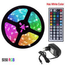 Bande de SMD 5050 RVB LED 5M 10M 15M 12V 60 leds / m Ruban de ruban flexible LED