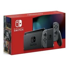 Nintendo Switch Grey Console with New Improved Battery Life /