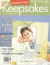 Creating Keepsakes Magazine May 2003 Becky Higgins Scrapbooking Paper Crafting