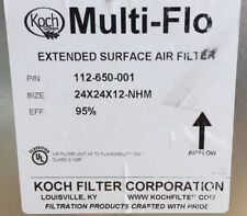 Koch Multi-Flo 24x24x12 EFF - 95% NHM 112-650-001 extended surface air filter