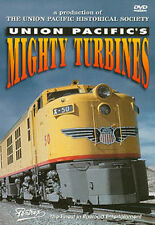 Union Pacific's Mighty Turbines DVD Pentrex UP gas Veranda coal burning F-Units
