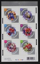 CANADA 2003 #1972 48c Hockey NHL All Stars Pane of 6 BK265