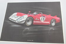 GA37 - Stampa- Poster 33.3 Le Mans - 1970 Alfa Romeo n. 26