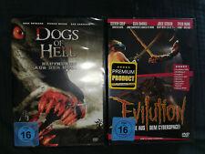 2 Stück Paket Thriller/Horror FSK16 DVD DOGS OF HELL + EVILUTION NEU+foliert!!!