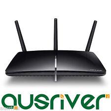 TP-Link Archer D7 AC1750 1750Mbps Dual Band Wireless Gigabit ADSL2+ Modem Router