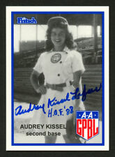 Audrey Kissel (d2017) #100 signed autograph auto Fritsch AAGPBL Baseball Card