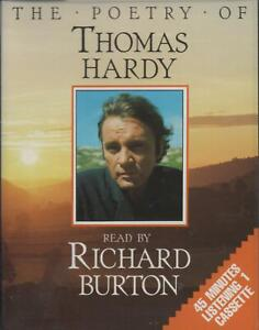 The Poetry Of Thomas Hardy Read By Richard Burton ~ Single Audio Cassette