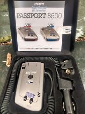 Radar Escort Passport/8500 X50 Blue Radar Detector Bundle. Perfect Condition