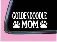 "GoldenDoodle Mom Tp 962 vinyl 8"" Decal Sticker double doodle labradoodle"