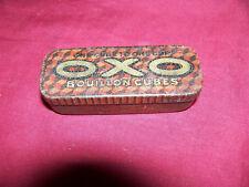 Antique OXO Bouillon Cubes Food Tin Corneille David & Co. Old Vintage Kitchen