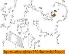VW VOLKSWAGEN OEM 99-03 Golf 1.9L-L4 Radiator-Cover 028121145B