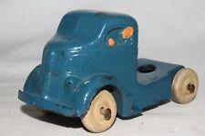 Auburn Rubber 1937 White Truck Semi Cab, Original