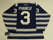 DION PHANEUF SIGNED 2014 TORONTO MAPLE LEAFS  WINTER CLASSIC JERSEY JSA COA