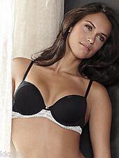 Wacoa b.tempt'd #953122 Soft Contour BLACK Lace 32C  Bra NWT