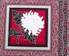 Chrysanthemum Cushion Panel No.1 cerise Pink  57 x 45 cm100% Cotton