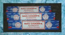 45 grams Satya Sai Baba Nag Champa Incense Stick New Sealed Most popular incense