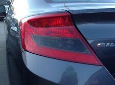 2012-2013 Honda Civic Coupe Turn Signal Light Smoked TINT PreCut Vinyl Overlays
