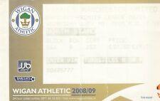 Ticket - Wigan Athletic v Manchester United 13.05.09