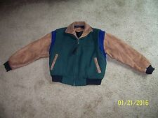 ** Wrangler Jacket * Bee Wild By Award Design Apparel * Size S * Leather Trim **